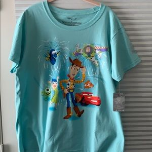 Woman's Disney store t shirt